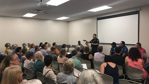 North Austin Civic Association And Pct. 2 Meet To Discuss Issues