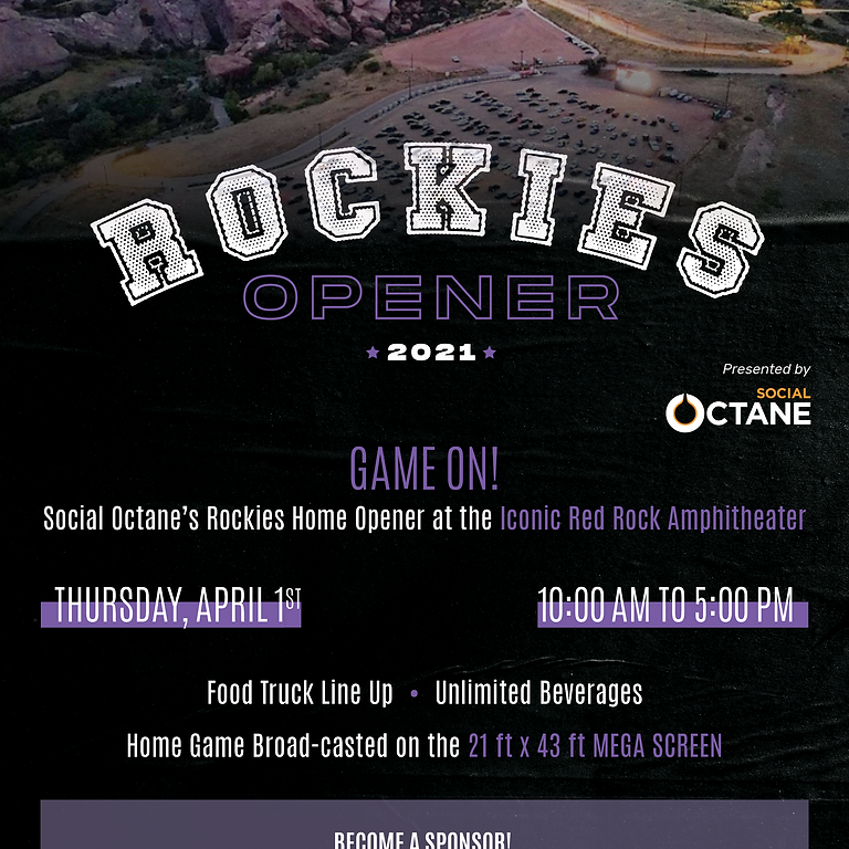 2021 Rockies Home Opener at Red Rocks!