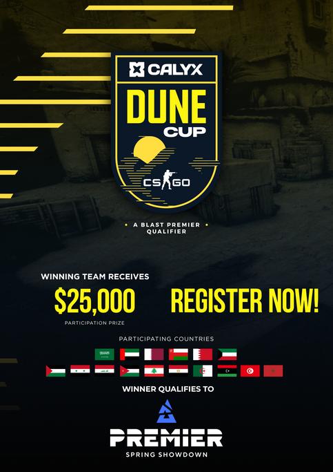 Dune Cup : A Blast Premier Qualifier
