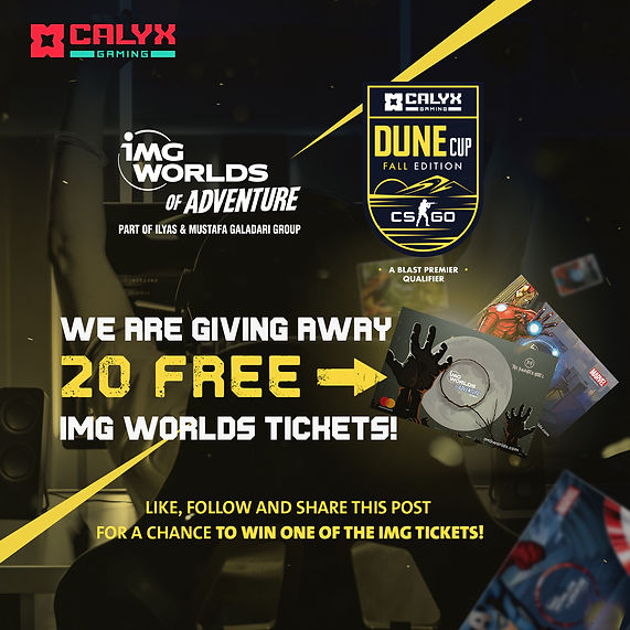 Dune Cup IMG Giveaway