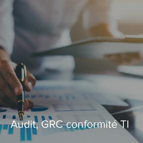 Audit GRC conformité TI