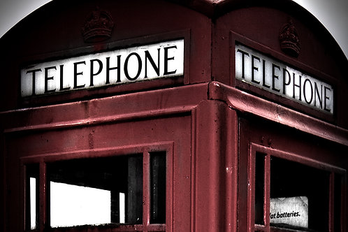 Nostalgic Telephone Box