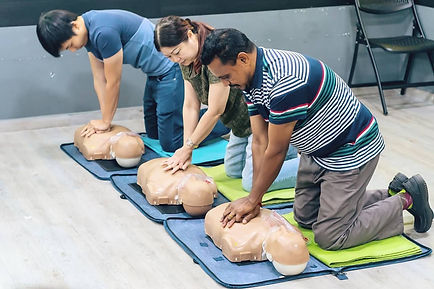 Methodology at Singapore First Aid Training Centre | Training delivery and techniques
