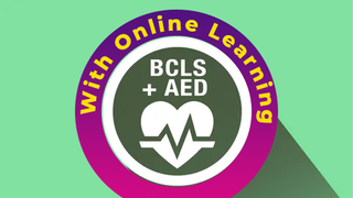 Blended BCLS+AED Course