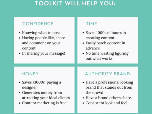 4 Ways our #letsgetvisible content creator toolkit will help you