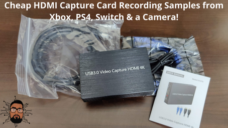 Cheap HDMI Capture Card for Xbox, PS4 & Cameras!