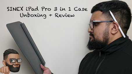 SINEX 3in1 iPad Pro Case Unboxing + Review!