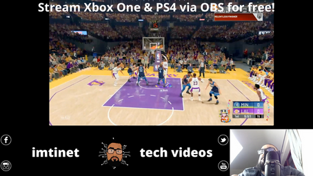 Stream Xbox One & PS4 via OBS for free! No capture card required!