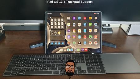 iPad OS 13.4 Trackpad Support!