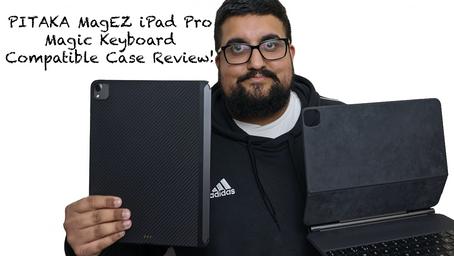 PITAKA MagEZ iPad Pro 12.9 Magic Keyboard Compatible Case Review!