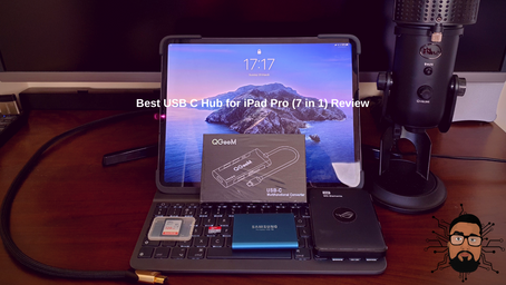 Best USB C Hub for iPad Pro (7 in 1) Review!