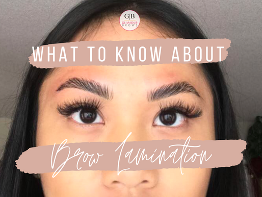Everything You Need to Know About Brow Lamination - The Process, the Experience and the Maintenance