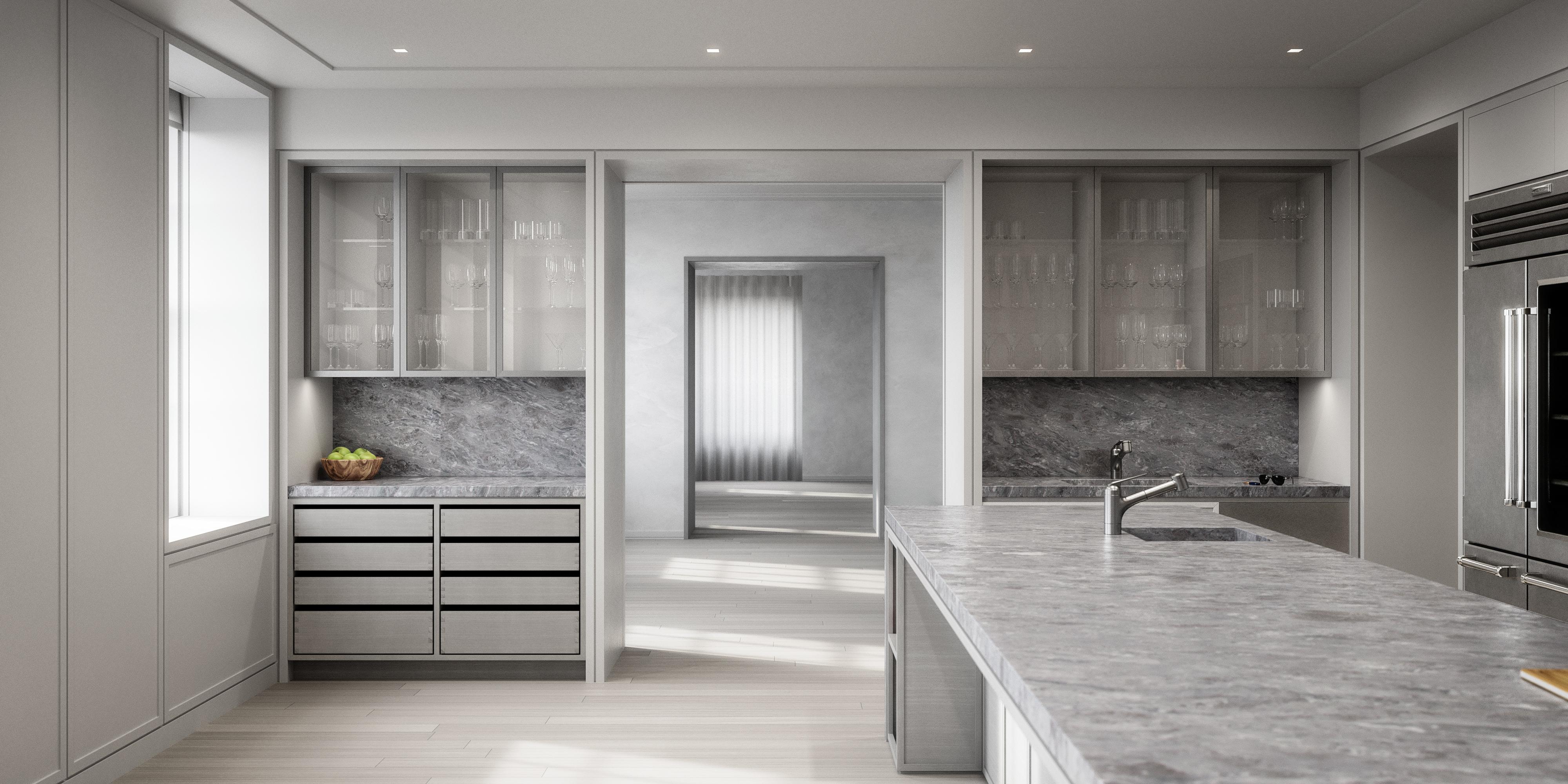 condo 3 - kitchen (view 2)