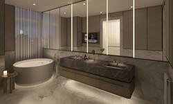 condo 1 - master bathroom (view 2)