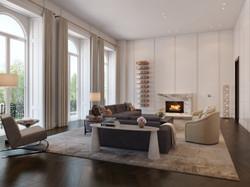london condos - living room