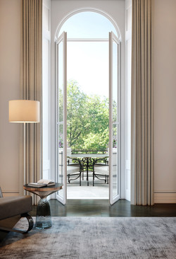 london condos - living room detail