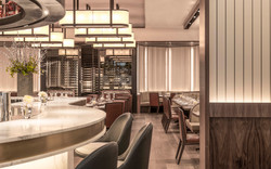 sette london - bar seating detail 1