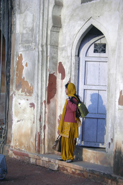 india doorway