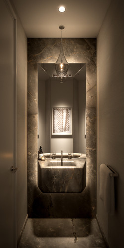 tower - typical powder room