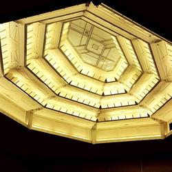 LVPAC ceiling installed