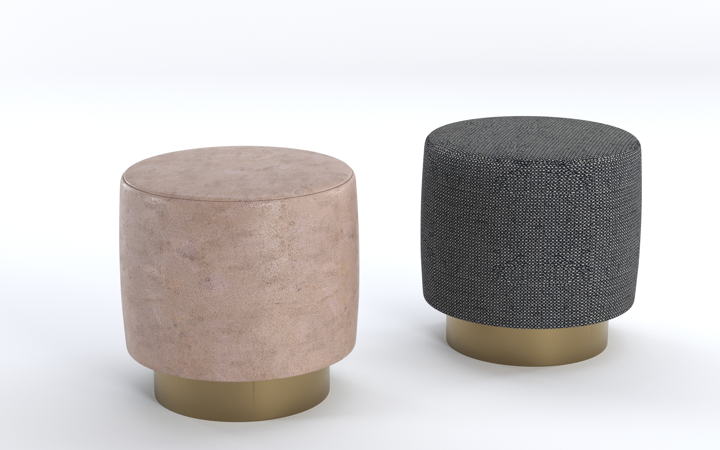 lounge ottomans