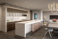 condo 2 - kitchen (view 1)