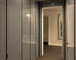 condo 1 - coat closet hallway