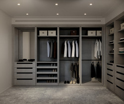 condo 3 - master closet 1 (view 1)