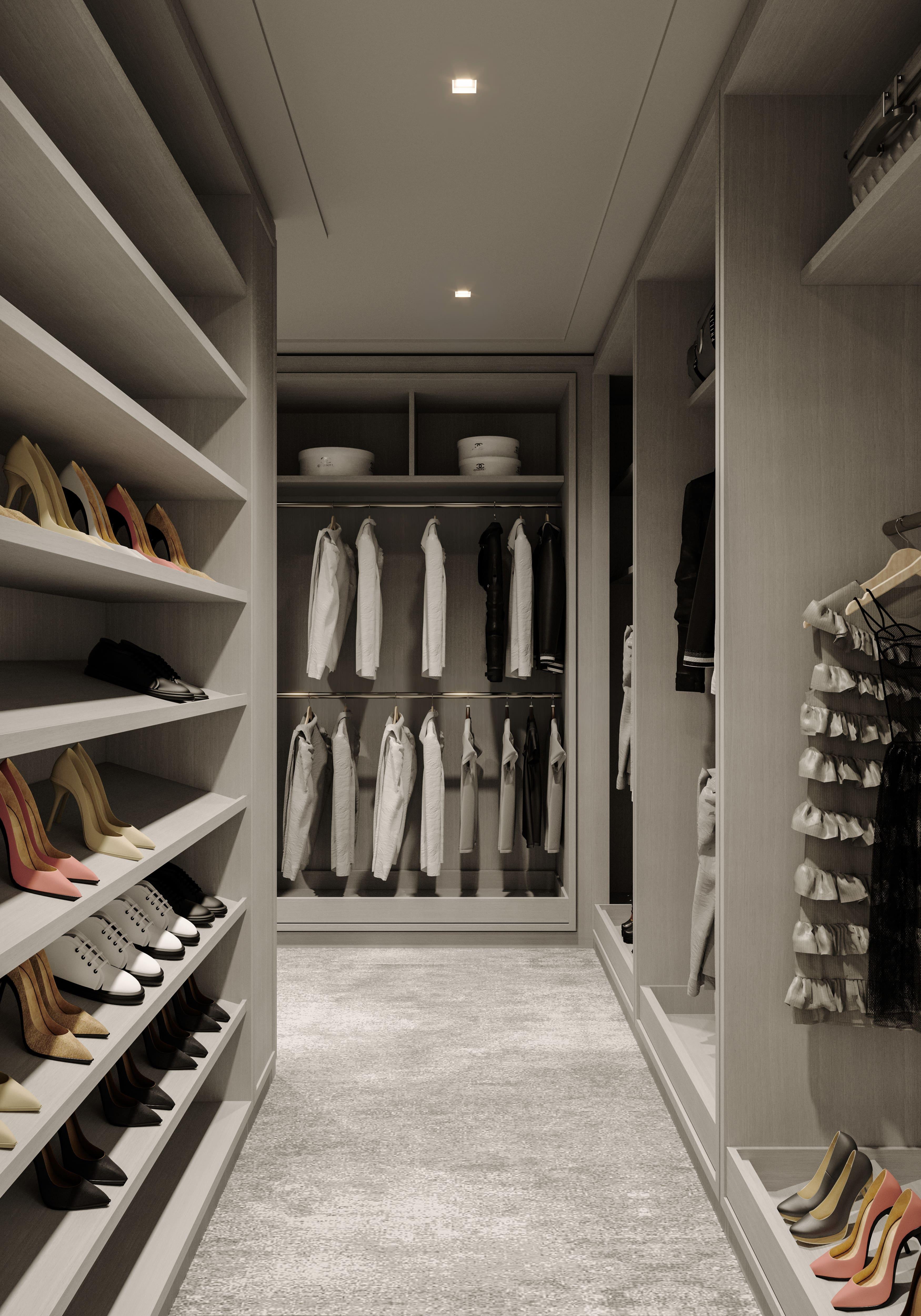 condo 3 - master closet 2 (view 4)