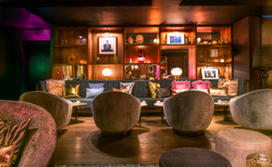london lounge - seating area and millwor