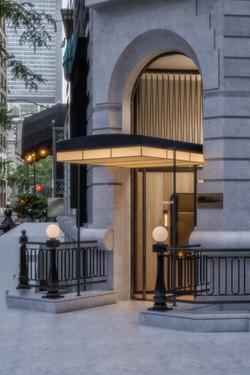 scarpetta nyc - entry canopy