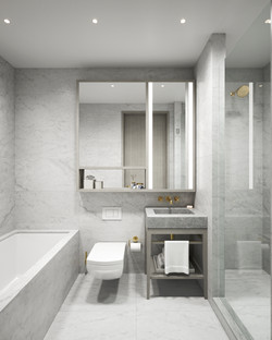 condo 3 - secondary bath 1