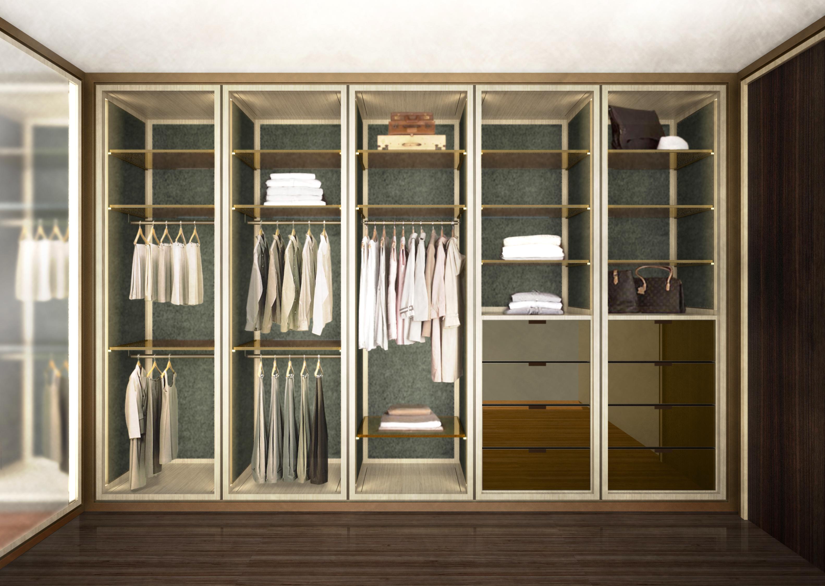 london condos - master closets