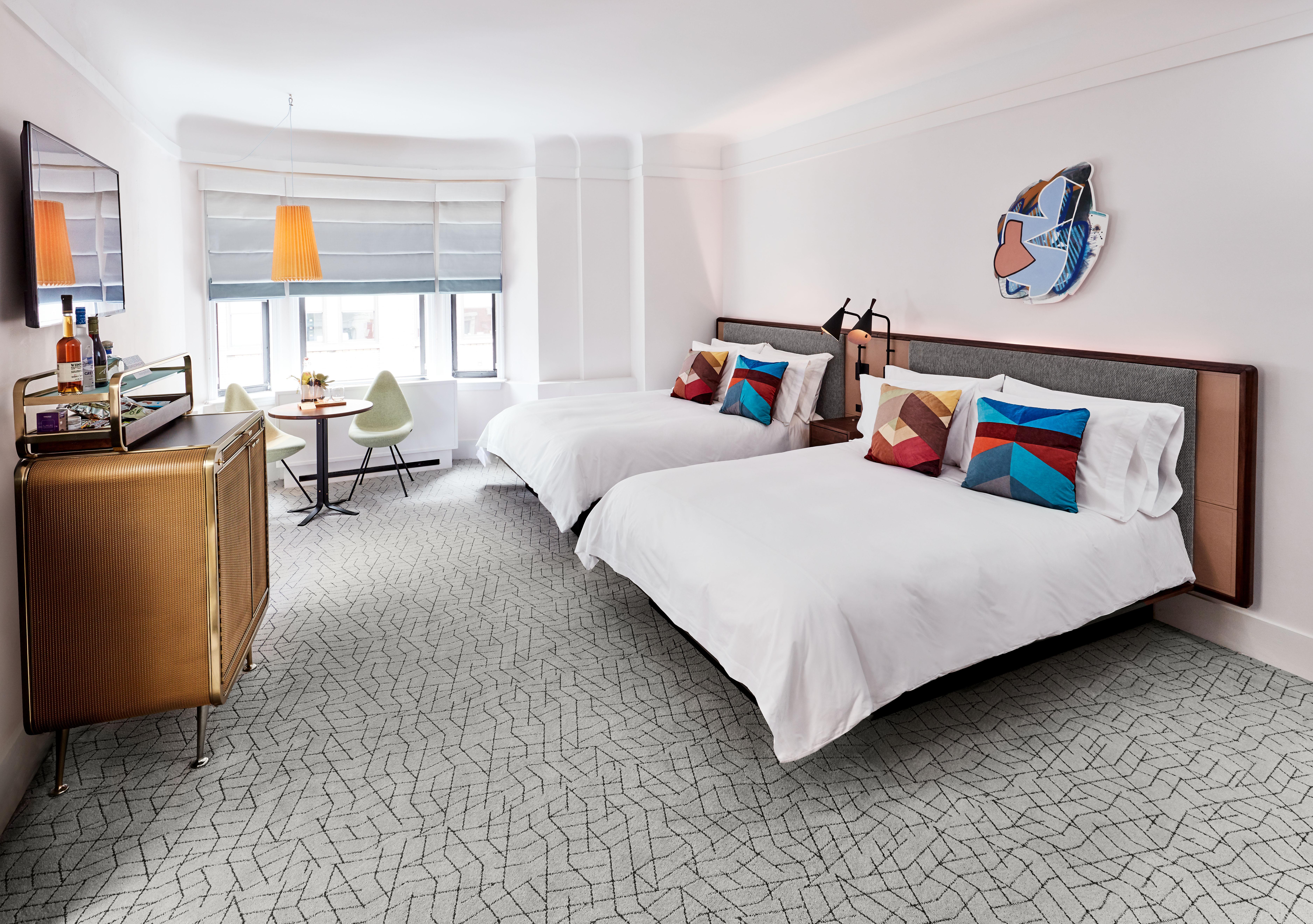 james hotel - double queen room