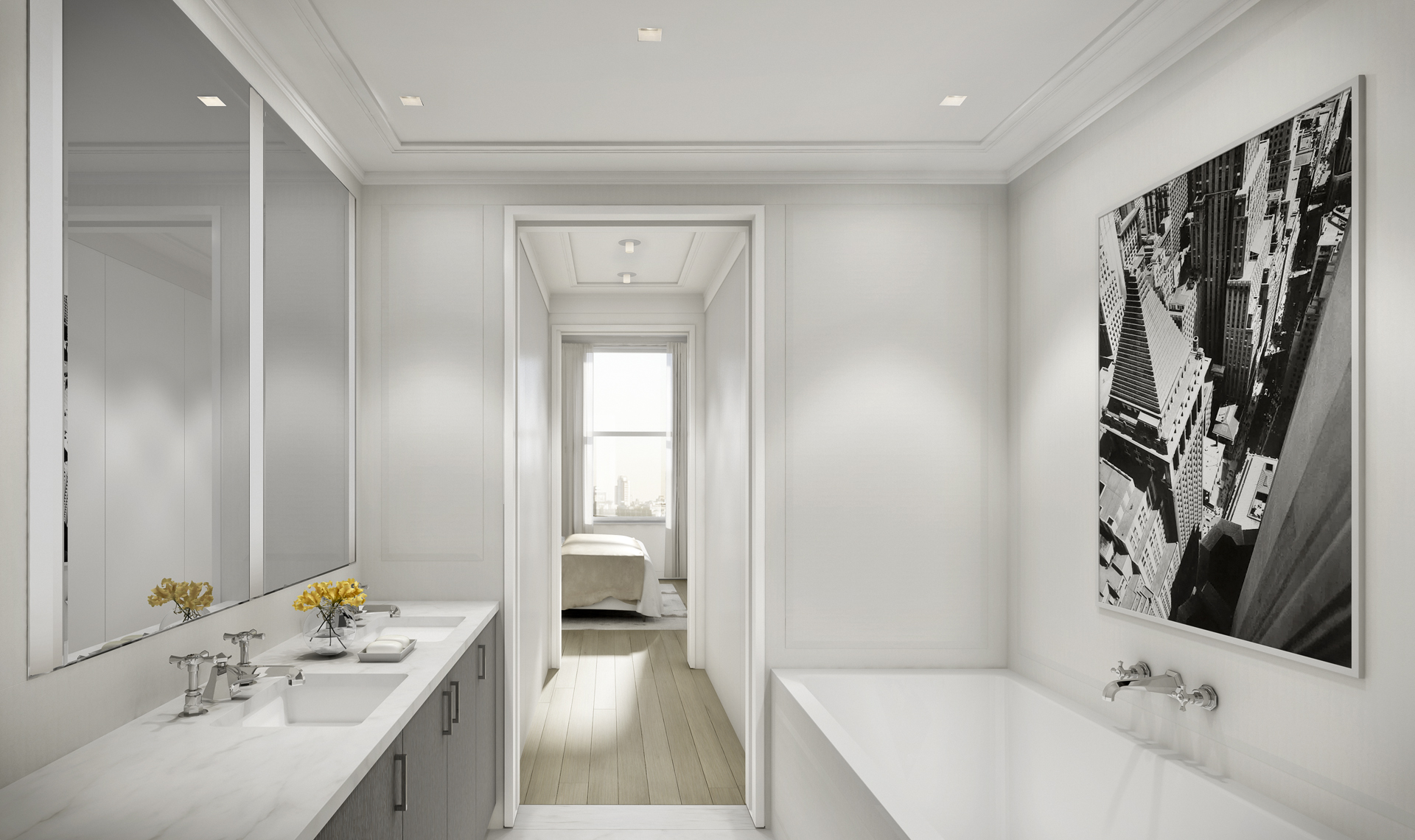 chelsea condos - master bathroom 1