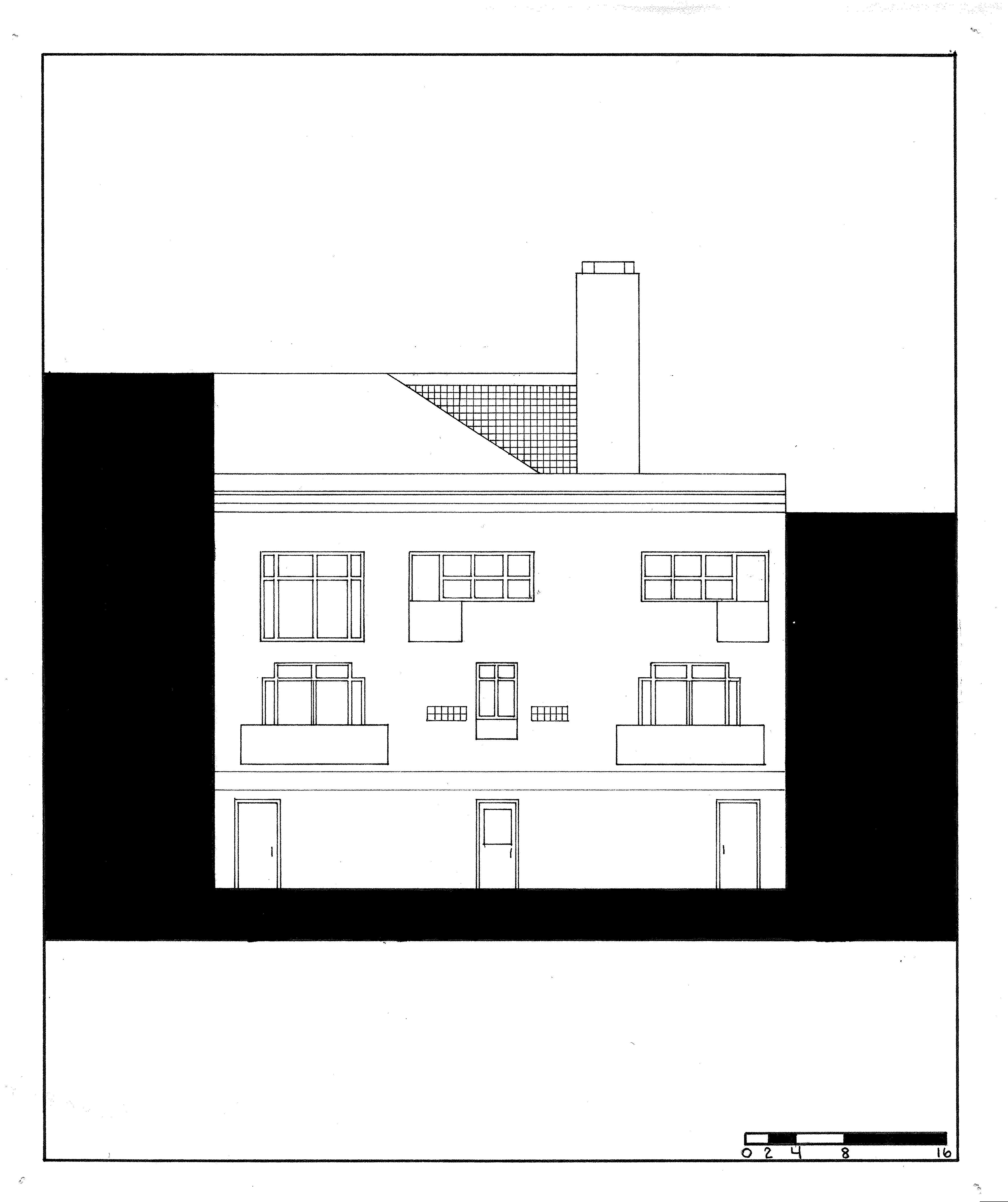 alexandria apts rear facade