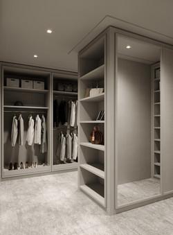 condo 3 - master closet 2 (view 1)