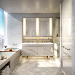 tower - master bathroom (typical)