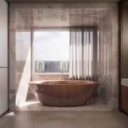london condos - master bathroom (view 2)