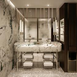 miami hotel - typical bathroom