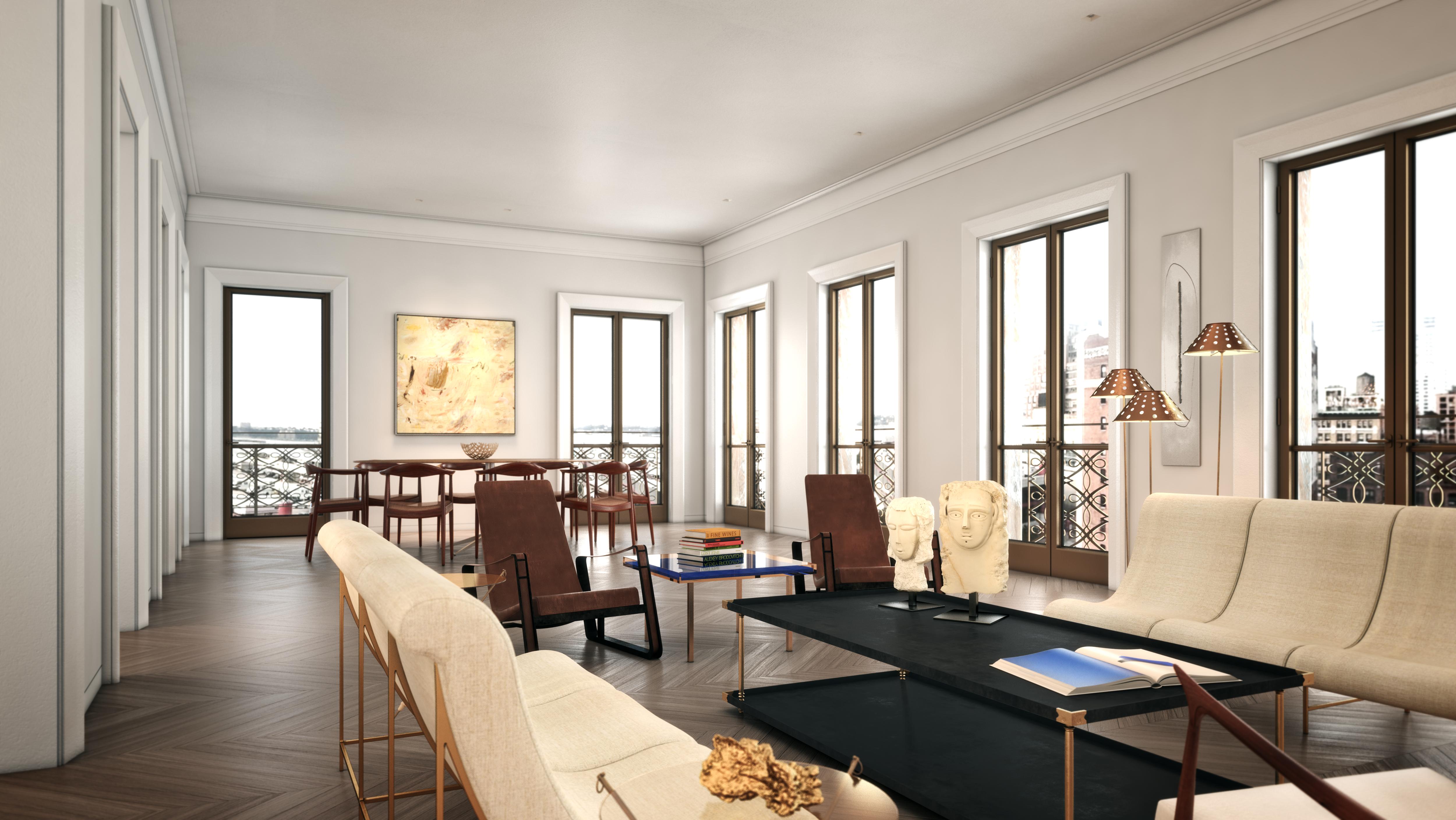 chelsea condos - living room