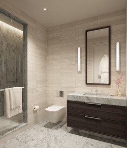 condo 2 - secondary bathroom
