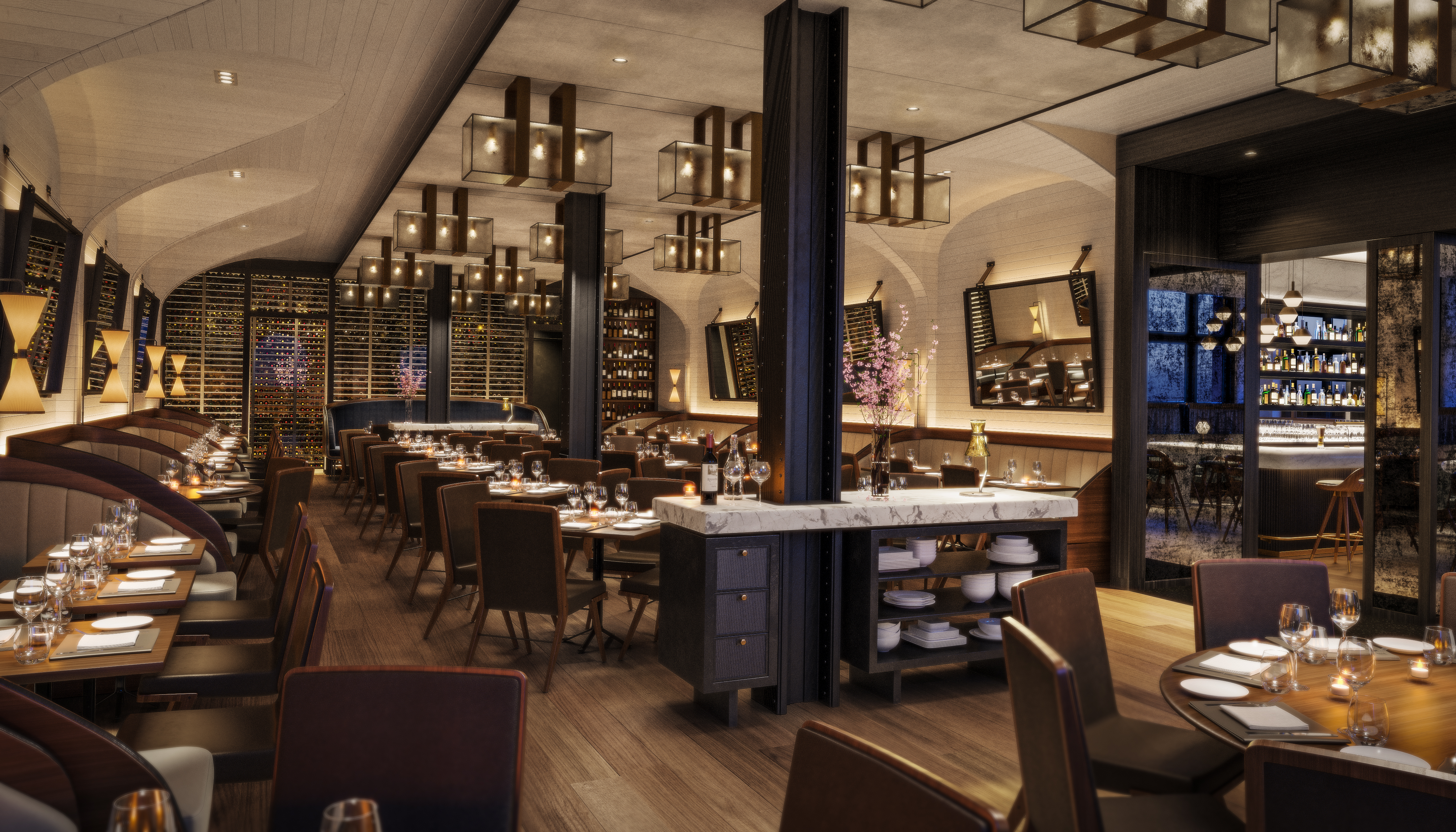 scarpetta nyc - dining room (view 3)