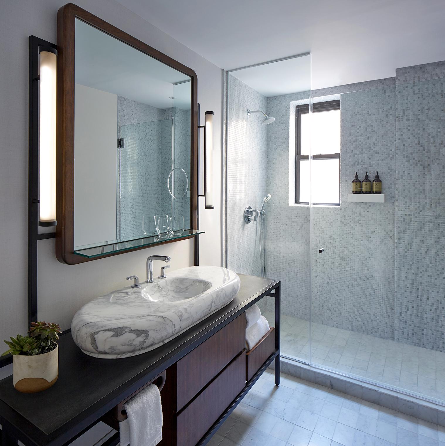 james hotel - bathroom vanity