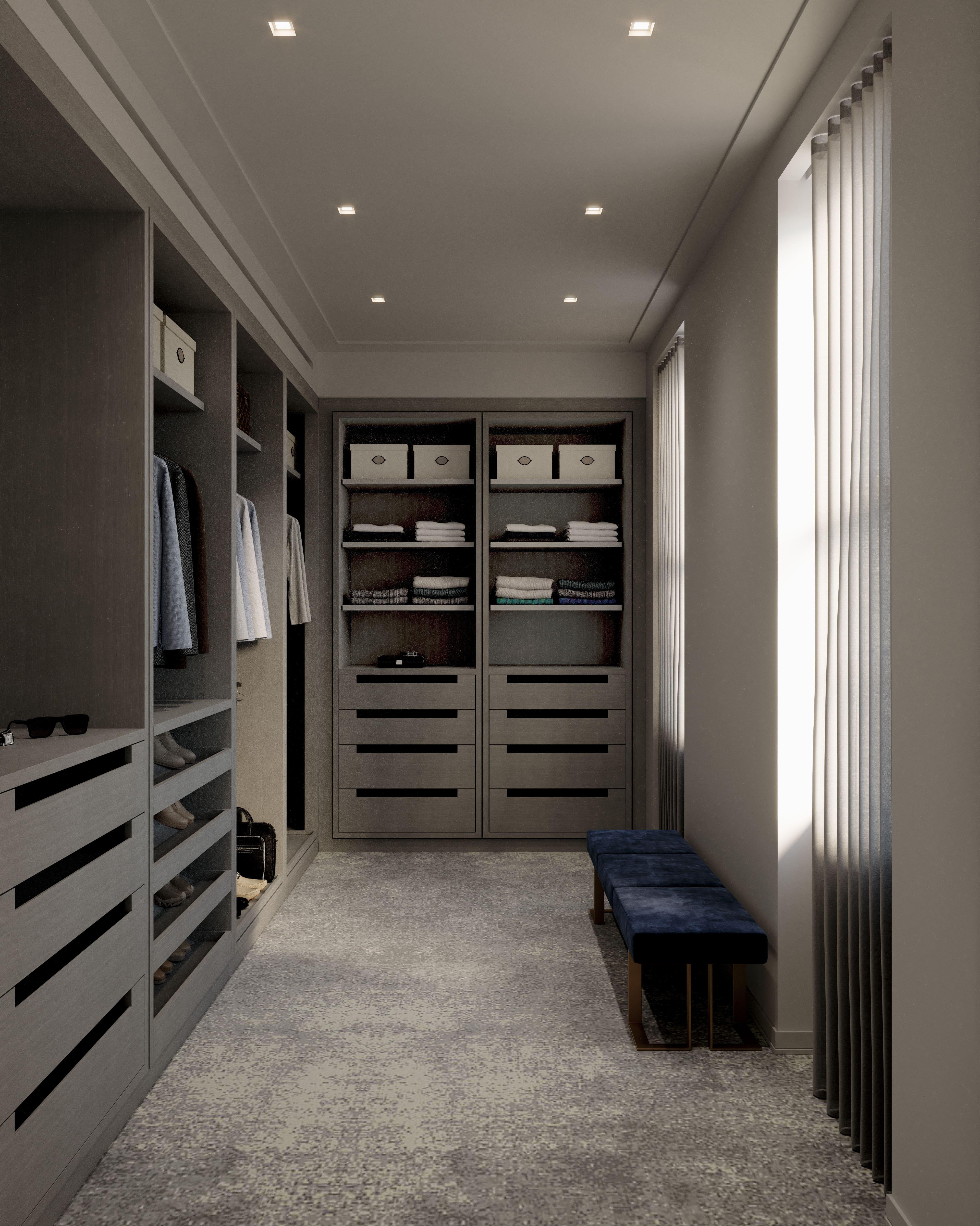 condo 3 - master closet 1 (view 2)