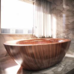 london condos - master bathroom (detail