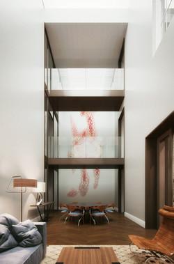 london condos - atrium living room catwa