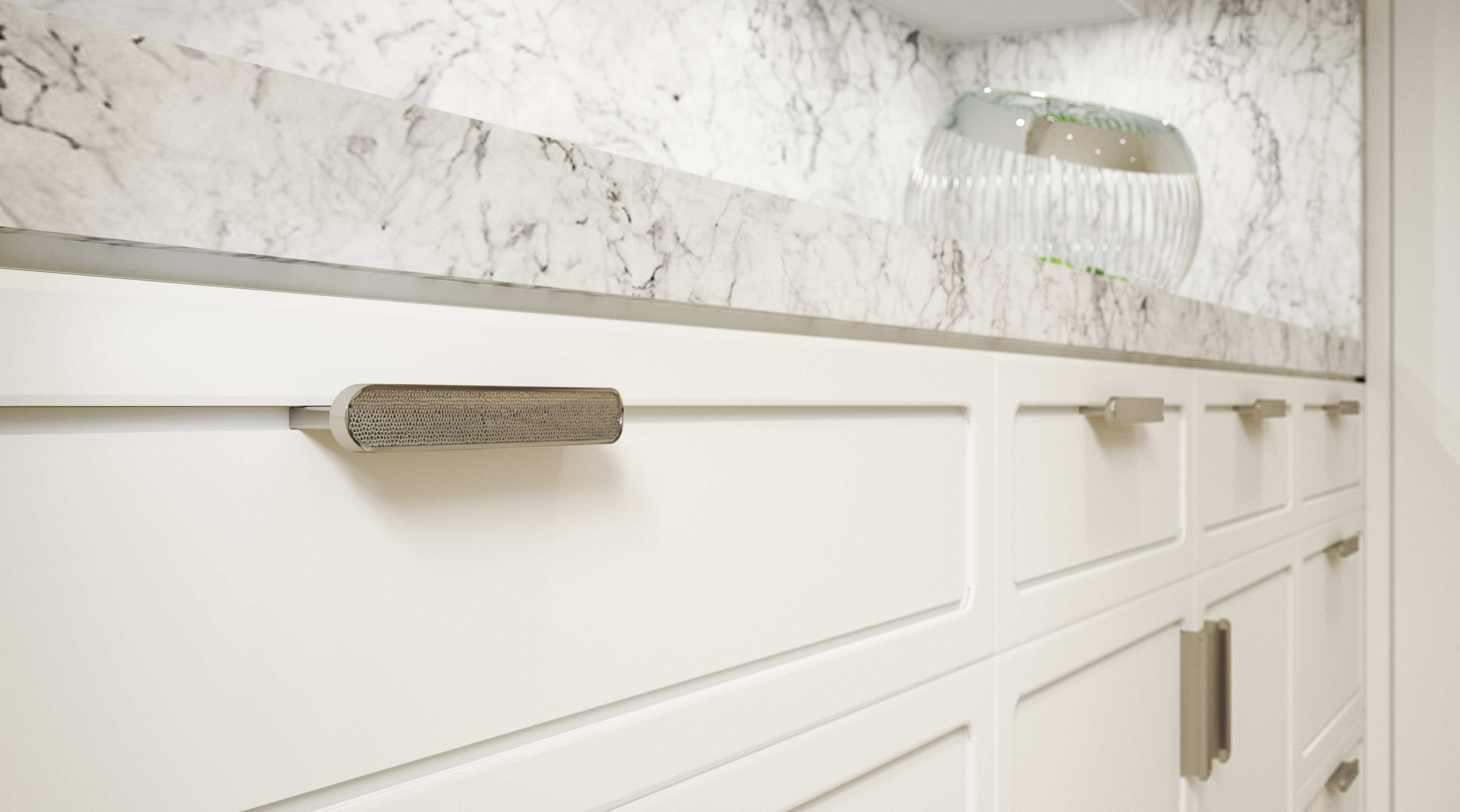 tower - kitchen cabinet pull