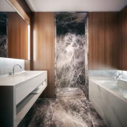 london condos - secondary bathroom