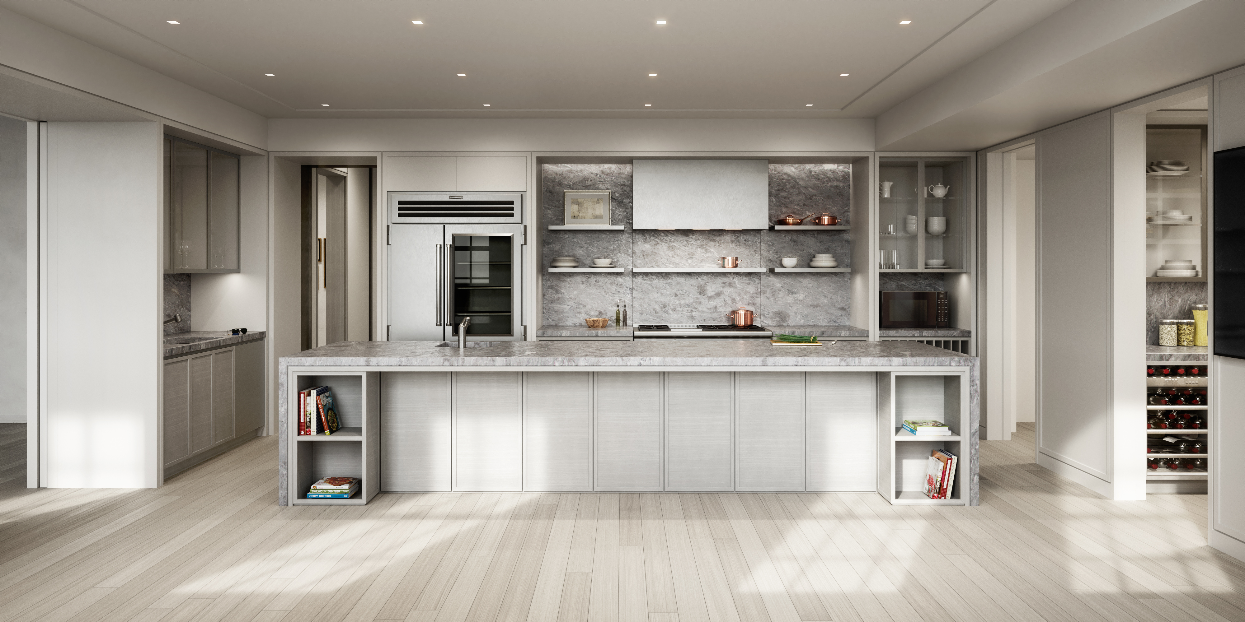 condo 3 - kitchen (view 3)